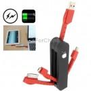 Мультифункциональный адаптер, кабель для синхронизации и зарядки, USB, Micro 5Pin, Mini USB, 30Pin