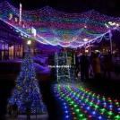 Праздничная светодиодная гирлянда 300-LED лампочек