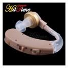 Слуховой аппарат, усилитель голоса, фиксируется за ухом