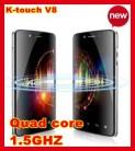 "K-Touch V8 II - смартфон, Android 4.0, HD 4.5"" IPS, Nvidia Tegra 3 (4 х 1.5 ГГц), 1ГБ RAM, 16ГБ ROM, 3G, Wi-Fi, Bluetooth, GPS, FM-радио, основная камера 8МП и дополнительная камера 1.3МП"