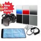 Набор: нейтрально-серые фильтры ND2/ND4/ND8 + градиентные фильтры серый/красный/синий + кольцо-переходник 72 мм