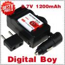 NP-BG1 - аккумулятор + зарядное устройство + автомобильное зарядное устройство + штекер для Sony DSC-W170 DSC-W215