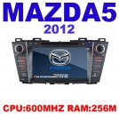 "CS-6018 - автомобильная магнитола, WinCE 6.0, 256MB RAM, 7"" TFT LCD, Touch Screen, DVD/CD, GPS, TV/FM, Bluetooth для Mazda 5 (2012)"