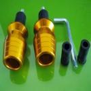 Рулевые наконечники для мотоцикла, алюминий, 2шт