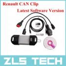 Диагностический инструмент для автомобилей Renault с клипсой на CAN-шину, программное обеспечение 2014 г.