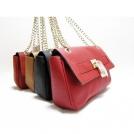 Женские сумки марки Michael Kors из настоящей кожи мягкие черные/красные/коричневые, закрываются на замок
