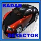 Антирадар в корпусе спортивного автомобиля, X / K / Ka / Ku, LED-дисплей