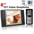 "Домофон, TFT LCD, CMOS, 8"", SD"
