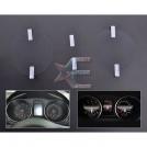 Защитные пленки для приборной панели автомобилей VW, golf6 MK6, 2008-2012