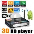 Egreat R6S – медиаплеер, 3D, Wifi, H.264, Full HD 1080p, E-SATA/USB