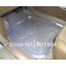 Автомобильные противоскользящие пластиковые ковры, прозрачные, 5шт