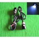 Светодиодная подсветка номерного знака, авто/мото, белый свет, SMD, 2 шт