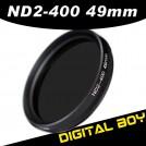 Нейтрально-серый фильтр 49 мм ND2-ND400 для Canon; Nikon; Sony