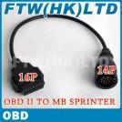 Кабель-адаптер для диагностического сканера, Mercedes Benz Sprinter, OBD2
