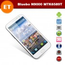 "Bluebo N9000 - смартфон, Android 4.2, MTK6589T Quad Core 1.5GHz, 5.7"" IPS 720Р, 2 SIM-карты, 1ГБ RAM, 4ГБ ROM, поддержка карт microSD, WCDMA/GSM, Wi-Fi, Bluetooth, GPS, FM-радио, основная камера 12.6МП и фронтальная камера 5МП"