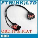 Автомобильный адаптер-кабель для диагностического сканера, OBD2, FIAT