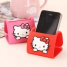 Силиконовая подставка Hello Kitty для мобильного телефона