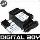 NB-6L - 2 аккумулятора + зарядное устройство + зарядка для авто, для Canon PowerShot SX240 SX260