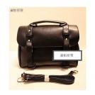 Женская сумочка-почтальонка ретро из полиуретановой кожи практичная, в руки / на плечо WQ12019