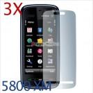 Защитная пленка для Nokia 5800 Xpress Music, 3 шт