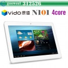 "Vido N101 - планшетный компьютер, Android 4.1, Allwinner A31 Quad Core 1.0GHz. 10.1"" IPS, 1GB RAM, 16GB ROM, Wi-Fi, HDMI, OTG, основная камера 2МП и фронтальная камера 0.3МП"