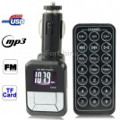 Автомобильный FM трансмиттер - MP3, Micro SD/TF, USB