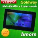 "Bmorn V13 Pro - планшетный компьютер, Android 4.0.3, 7"" TFT LCD, All Winner A13 (1.2GHz), 512MB RAM, 8GB ROM, Wi-Fi, 0.3MP фронтальная камера"