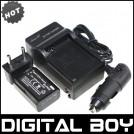 NPFW50 - аккумулятор + зарядное устройство + автомобильное зарядное для Sony NEX-3 NEX-5C Alpha A55