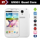 "U9501 - Смартфон, Android 4.2, MTK6589 1.2 GHz, 5"", Dual SIM, 1GB RAM, 8GB ROM, Bluetooth, GPS, FM, Wi-Fi, основная камера 13Mpix."