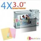 Защитная пленка для фотоаппарата, 4 шт., 3 дюйма