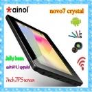 "Ainol Novo 7 Crystal - планшетный компьютер, Android 4.1.1, 7"" MVA, AMLogic 8726-M6 (1.5GHz), 1GB RAM, 8GB ROM, Wi-Fi, HDMI, 2MP фронтальная камера"