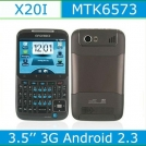 "Star X20i - смартфон, Android 2.3.6, MTK6573 (650MHz), 3.5"" TFT LCD, 256MB RAM, 512MB ROM, Wi-Fi, Bluetooth, TV, GPS, QWERTY, 2MP камера"