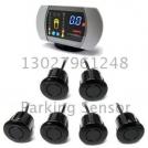 ZYAC Parking Sensor - парктроник, цветной LED-дисплей, 6 датчиков
