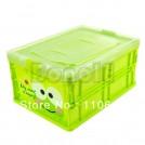 Складной пластиковый ящик с мультяшками, 4шт