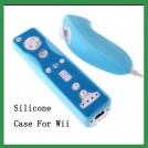 Силиконовые чехлы для Wii Nunchuck и Wii Remote для консоли Nintendo Wii