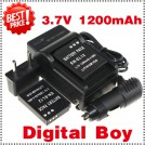 EN-EL12 - батарея, зарядное устройство, автомобильное зарядное устройство для камер Nikon Coolpix S800C S610 S610c S710
