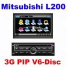 "CE-8994A - автомобильная магнитола, 7"" TFT LCD, Touch Screen, GPS, Bluetooth, DVD, FM/TV для Mitsubishi L200/Kia K2"