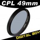 Циркулярно-поляризационный фильтр 49 мм для Canon; Nikon; Sony
