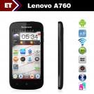 "Lenovo A760 - Смартфон, Android 4.1, Qualcomm MSM8225Q 1.2 Ghz, 4.5"", Dual SIM, 1GB RAM, 4GB ROM, GSM, WiFi, 3G, GPS, камера 0.5 Mpix"