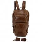Рюкзак для пеших прогулок из натуральной кожи 7048B