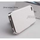 Жесткий кожаный чехол для iPhone 4/iphone 4s