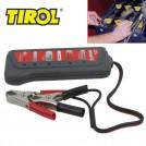 Тестер для проверки уровня заряда аккумуляторной батареи, 12V, 6-LED