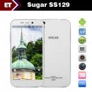 "Sugar SS129 - Смартфон, Android 4.2, MTK6589T 1.5GHz, Micro SIM, 5"", 2GB RAM, 16GB ROM, GSM, 3G, GPS, Wi-Fi, Bluetooth, основная камера 13.0Mp"