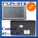 5 дюймовый автомобильный GPS навигатор со встроенным DVR