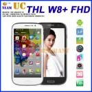 "ThL W8 - смартфон, Android 4.2, Quad core Cortex A7 1.2GHz, 5.0"" FHD, 2 SIM-карты, 1ГБ RAM, 16ГБ ROM, поддержка карт microSD, WCDMA/GSM, Wi-Fi, Bluetooth, GPS, FM-радио, основная камера 12МП и фронтальная камера 5МП"