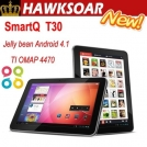 "SmartQ T30 - планшетный компьютер, Android 4.1.1, 10.1"" IPS, TI OMAP 4470 (2x1.5GHz), 2GB RAM, 16GB ROM, HDMI, Wi-Fi, Bluetooth, 2MP фронтальная камера, 5MP задняя камера"