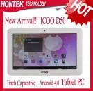 "Icoo D50 Luxury II - планшетный компьютер, Android 4.0.3, Allwinner A13 (1.2GHz), 7"" TFT LCD, 512MB RAM, 4GB/8GB ROM, Wi-Fi, 1.3MP фронтальная камера"