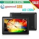 "Gooweel Q88 - планшетный компьютер, Android 4.0, Allwinner A13 1.2GHz, 7.0"", 512 МБ RAM, 4GB ROM, поддержка карт microSD, Wi-Fi, OTG, фронтальная камера 0.3МП"