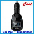 Автомобильный  FM трансмиттер  - MP3 плеер, USB, SD/MMC