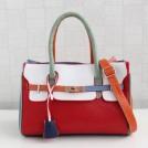 Женская сумка с интересной игрой цвета